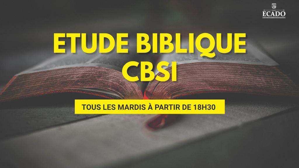 Etude CBSI